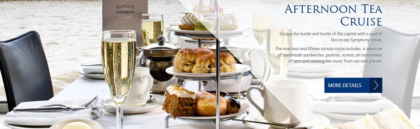 Bateaux London Afternoon Tea Cruise